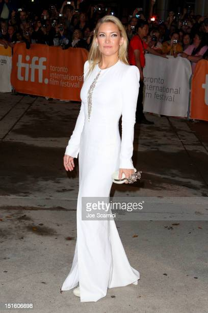 Actress Kate Hudson attends The Reluctant Fundamentalist premiere during the 2012 Toronto International Film Festival at Roy Thomson Hall on...