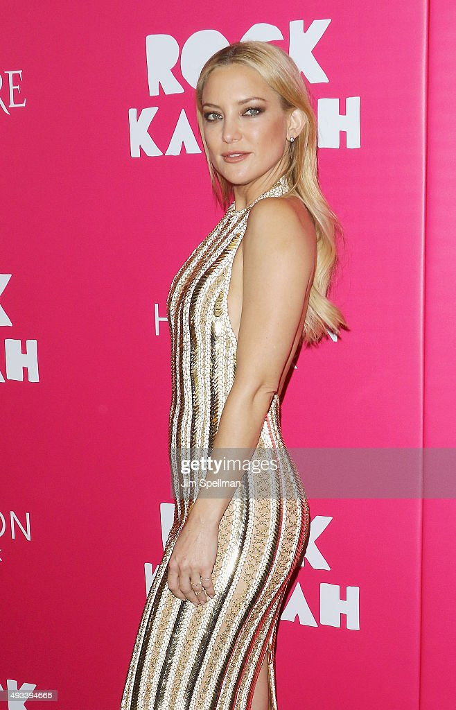 Actress Kate Hudson attends the 'Rock The Kasbah' New York premiere at AMC Loews Lincoln Square on October 19, 2015 in New York City.