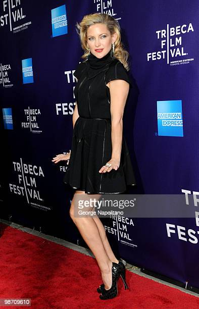 """Actress Kate Hudson attends the """"The Killer Inside Me"""" premiere during the 9th Annual Tribeca Film Festival at the SVA Theater on April 27, 2010 in..."""
