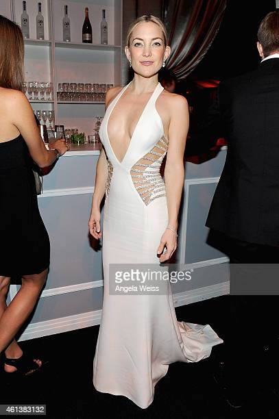 Actress Kate Hudson attends The Weinstein Company Netflix's 2015 Golden Globes After Party presented by FIJI Water Lexus Laura Mercier and Marie...