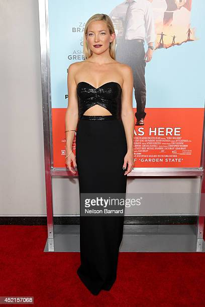 Actress Kate Hudson attends the Wish I Was Here screening at AMC Lincoln Square Theater on July 14 2014 in New York City