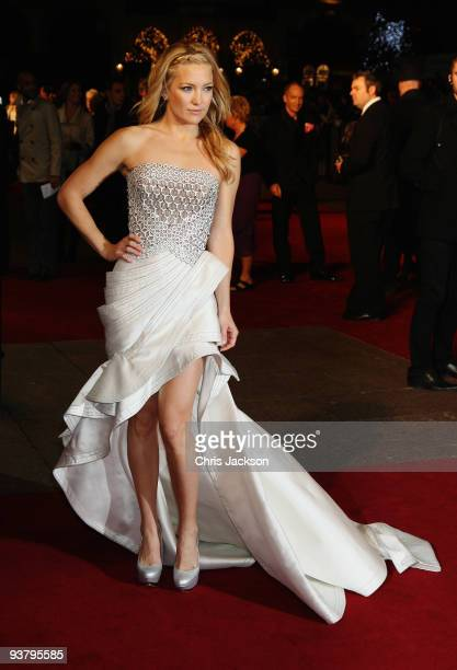 Actress Kate Hudson attends the World Premiere of 'Nine' at Odeon Leicester Square on December 3, 2009 in London, England.