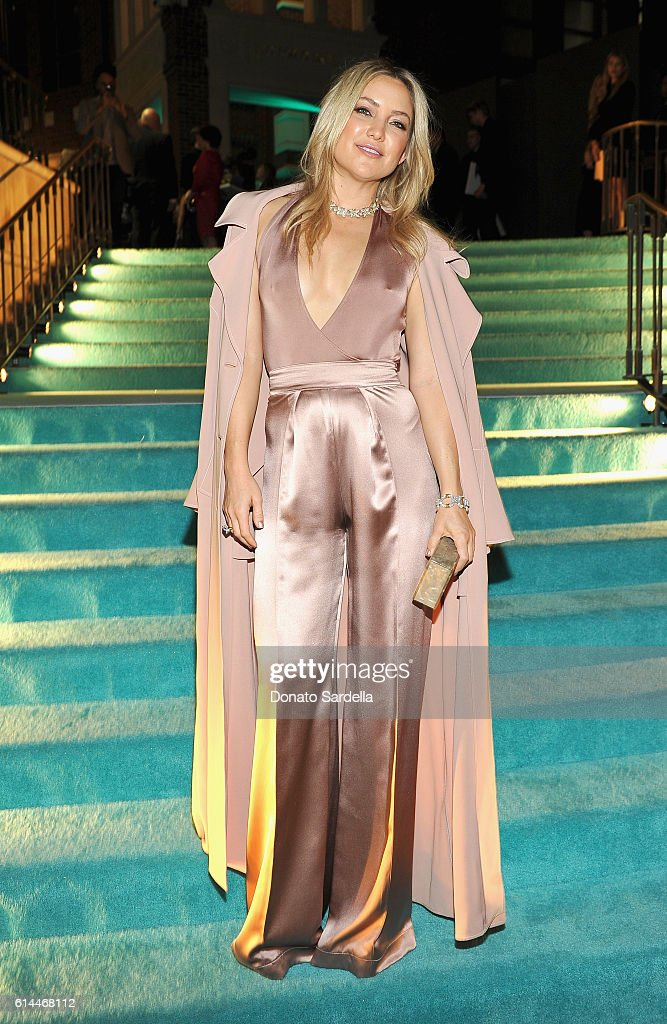 Actress Kate Hudson attends Tiffany & Co.'s unveiling of the newly renovated Beverly Hills store and debut of 2016 Tiffany masterpieces at Tiffany & Co. on October 13, 2016 in Beverly Hills, California.