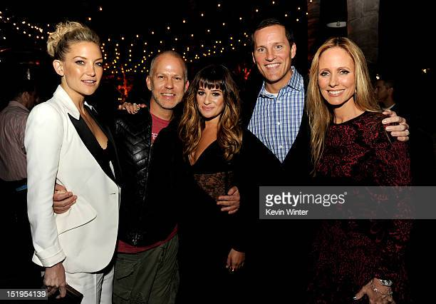 Actress Kate Hudson, executive producer/creator Ryan Murphy, actress Lea Michele, Joe Earley, COO, Fox Broadcasting and Dana Walden, Chairman, 20th...