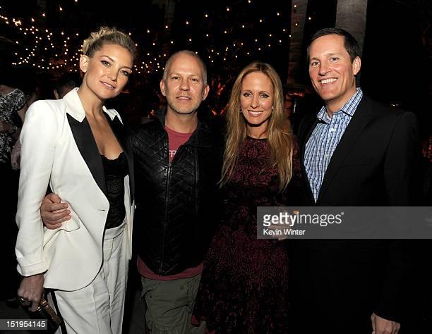 Actress Kate Hudson, executive producer/creator Ryan Murphy, Dana Walden, Chairman, 20th Century Fox Television and Joe Earley, COO Fox Broadcasting...
