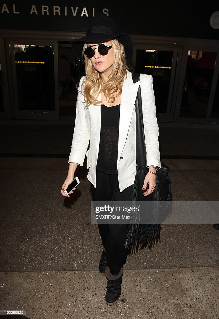 Actress Kate Hudson is seen on January 17, 2014 in Los Angeles, California.