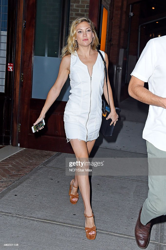 Actress Kate Hudson is seen on July 9, 2015 in New York City.
