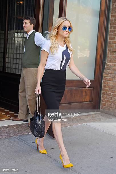 Actress Kate Hudson is seen on May 20 2014 in New York City
