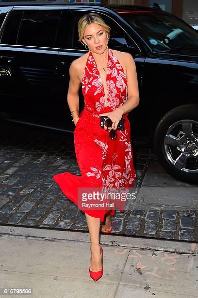 Actress Kate Hudson is seen walking in Soho on September 27, 2016 in New York City.