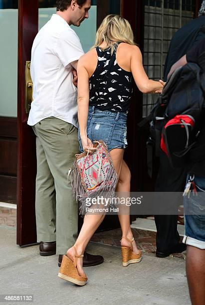 Actress Kate Hudson is seen walking in Soho on September 4 2015 in New York City