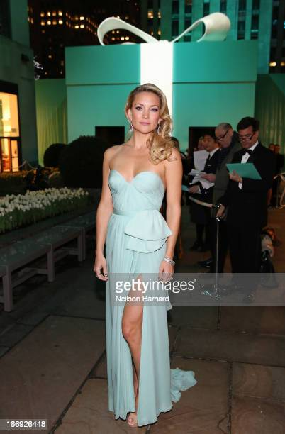 Actress Kate Hudson is wearing Diamonds from the Tiffany Co 2013 Blue Book Collection as she attends the Tiffany Co Blue Book Ball at Rockefeller...
