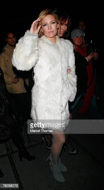 Actress Kate Hudson sighting arriving at the Gramercy Park Hotel for the Dolce and Gabbana party to celebrate the opening of their flagship store on...