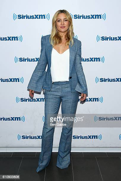 Actress Kate Hudson visits at SiriusXM Studio on September 28 2016 in New York City