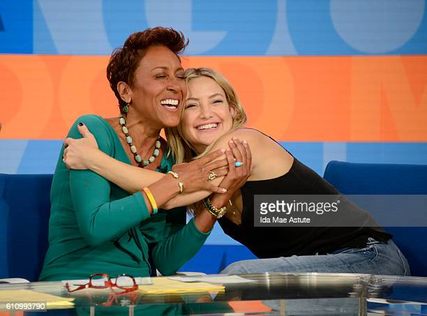 AMERICA Actress Kate Hudson visits GOOD MORNING AMERICA 9/28/16 airing on the ABC Television Network ROBIN