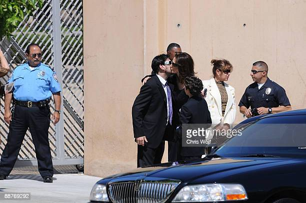 Actress Kate Jackson arrives at Cathedral of Our Lady of the Angels on June 30 2009 in Los Angeles California