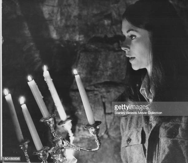 Actress Kate Jackson in a scene from the movie 'Night of Dark Shadows' 1971