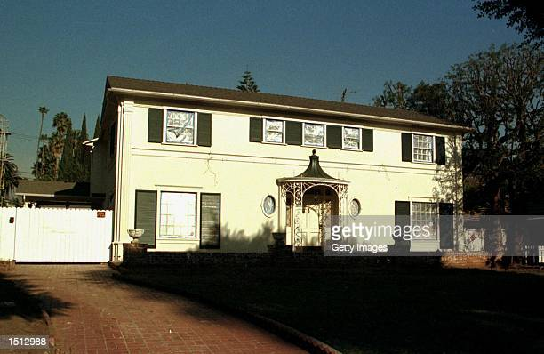 Actress Kate Jackson's4300 square foot home faces a Beverly Hills street November 27 2000 in Bevery Hills CA where it was sold today for $19 million...