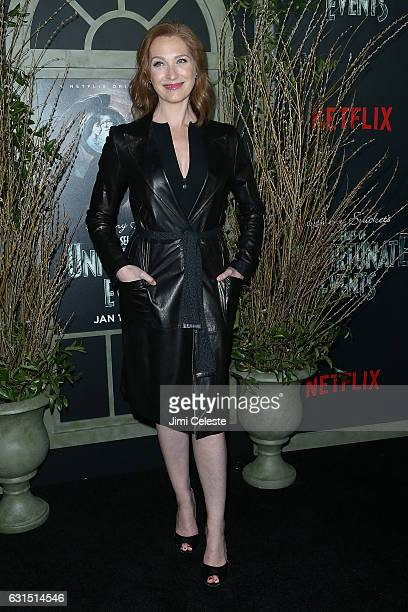 Actress Kate Jennings Grant attends NETFLIX Presents the World Premiere of Lemony Snicket's 'A Series of Unfortunate Events' at AMC Lincoln Square...