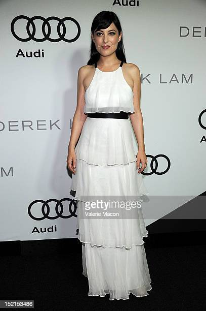 Actress Kate Kelton arrives at Audi And Derek Lam Kick Off Emmy Week 2012 party at Cecconi's Restaurant on September 16 2012 in Los Angeles California