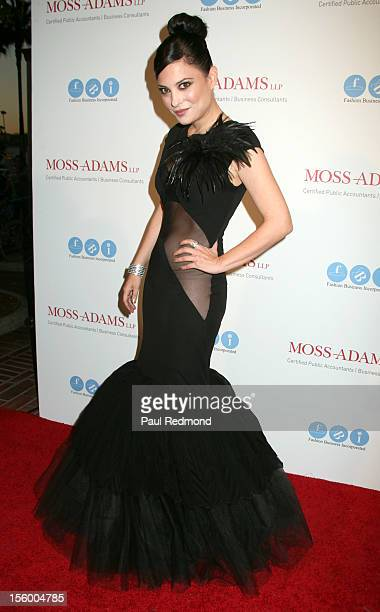 Actress Kate Kelton arrives at Melissa Rivers Hosts All AboardLA's Fashion Platform Fashion Show at Union Station on October 20 2012 in Los Angeles...