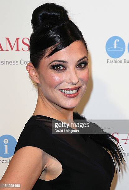 Actress Kate Kelton attends the All AboardLA's Fashion Platform fashion show hosted by Melissa Rivers at Union Station on October 16 2012 in Los...