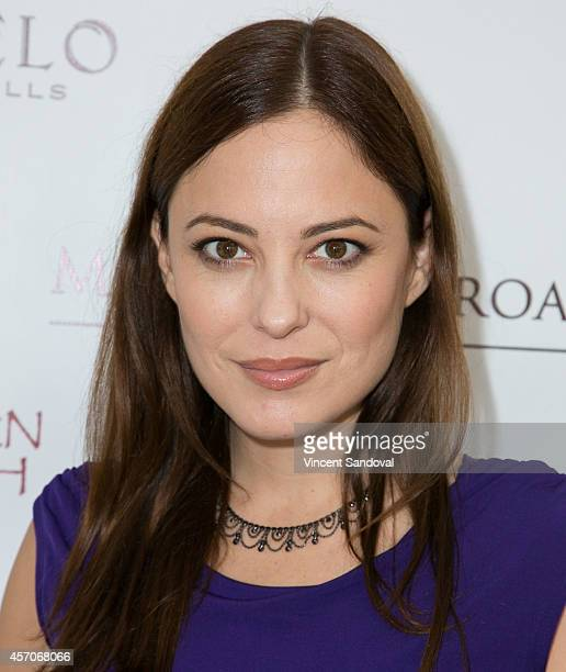 Actress Kate Kelton attends the Heaven and Earth Oasis Charity fundraiser at Il Cielo on October 11, 2014 in Beverly Hills, California.