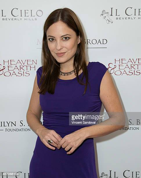 Actress Kate Kelton attends the Heaven and Earth Oasis Charity fundraiser at Il Cielo on October 11 2014 in Beverly Hills California