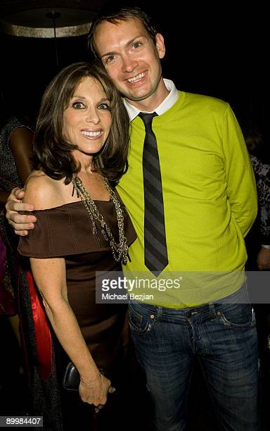 """Actress Kate Linder and socialite Michael Dean Shelton attends the FIDM Screening Of """"Project Runway"""" at the Provecho Restaurant & Remedy Lounge on..."""