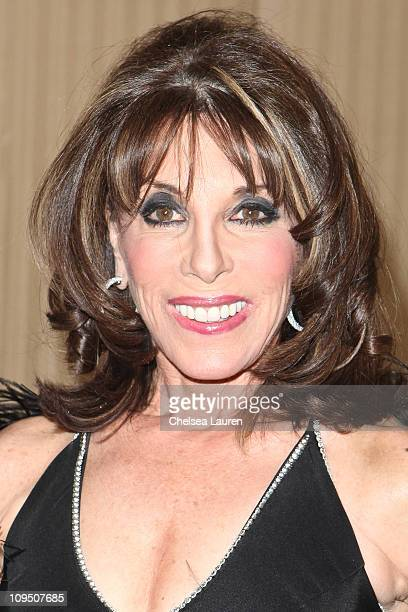 Actress Kate Linder arrives at the 21st Annual Night of 100 Stars Awards Gala at Beverly Hills Hotel on February 27, 2011 in Beverly Hills,...