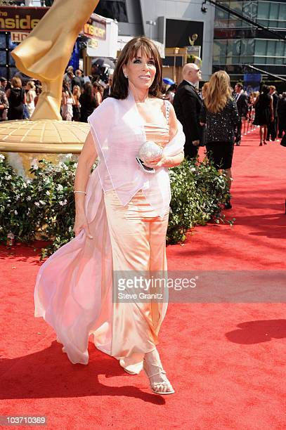 Actress Kate Linder arrives at the 62nd Annual Primetime Emmy Awards held at the Nokia Theatre LA Live on August 29 2010 in Los Angeles California