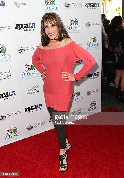 Actress Kate Linder arrives at The HOME Foundation's celebrity Casino Royale fundraiser at Avalon on May 24 2011 in Hollywood California