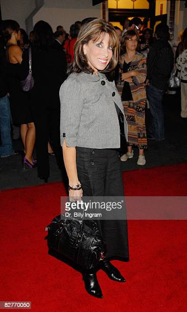 Actress Kate Linder arrives to attend the opening night of A Bronx Tale written by and starring Chazz Palminteri recreating his tour de force...