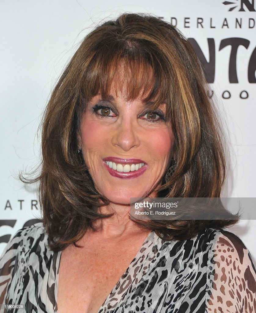 Actress Kate Linder arrives to the Los Angeles Opening Night of 'Shrek The Musical' at the Pantages Theatre on July 13, 2011 in Hollywood, California.