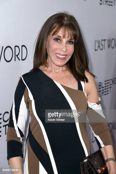 Actress Kate Linder at the premiere of Bleecker Street Media's The Last Word at ArcLight Hollywood on March 1 2017 in Hollywood California