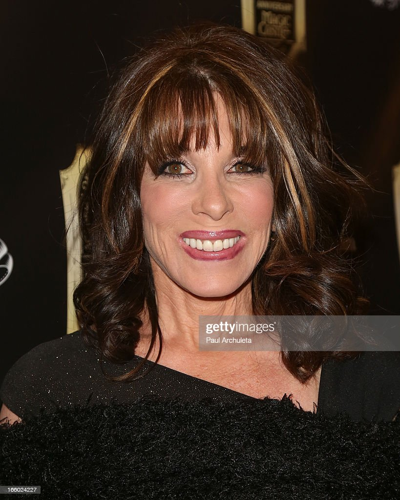 Actress Kate Linder attends the 45th annual AMA awards show at the Orpheum Theatre on April 7, 2013 in Los Angeles, California.