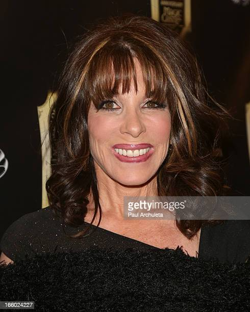 Actress Kate Linder attends the 45th annual AMA awards show at the Orpheum Theatre on April 7 2013 in Los Angeles California