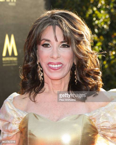 Actress Kate Linder attends the 45th Annual Daytime Creative Arts Emmy Awards at the Pasadena Civic Auditorium on April 27 2018 in Pasadena California