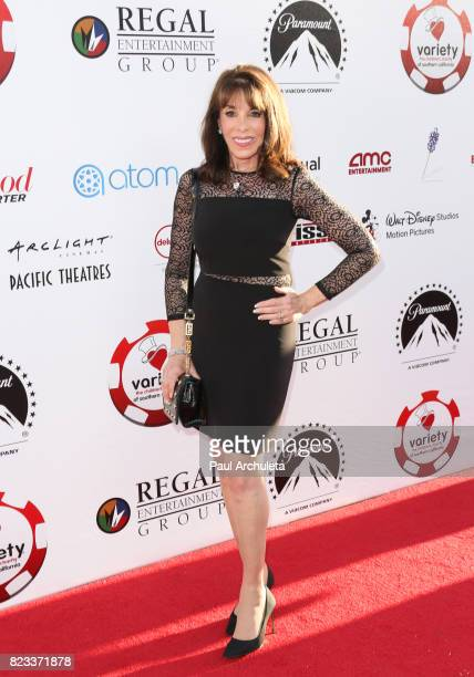 Actress Kate Linder attends the 7th Annual Variety and The Children's Charity Of Southern California's Texas Hold 'Em Poker Tournament at Paramount...