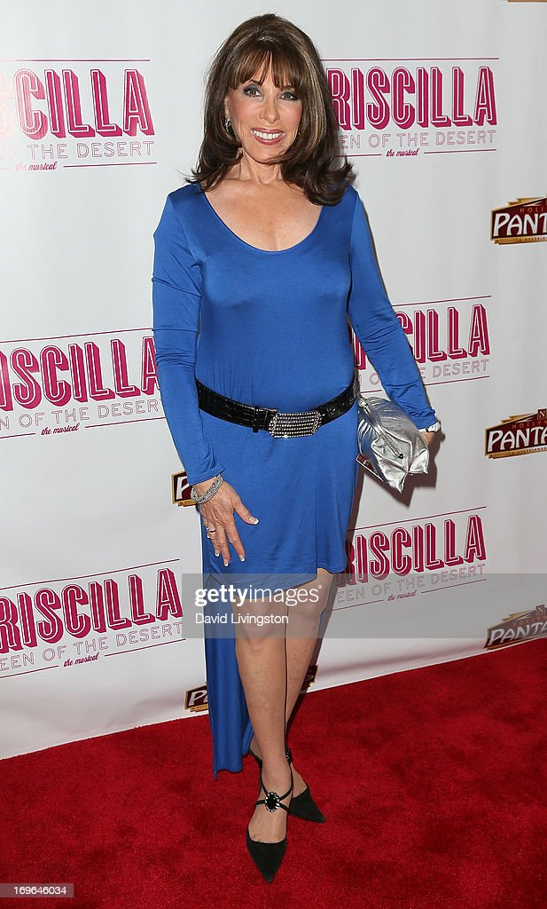 Actress Kate Linder attends the Los Angeles theatre premiere of 'Priscilla Queen of the Desert' at the Pantages Theatre on May 29, 2013 in Hollywood, California.
