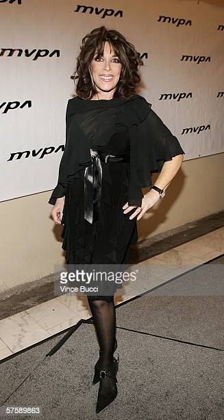 Actress Kate Linder attends the Music Video Production Association's 15th Annual MVPA Awards at the Orpheum Theatre on May 11 2006 in Los Angeles...