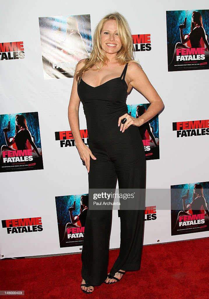 Actress Kate Luyben attends the screening of Cinemax's new series 'Femme  Fatales' at ArcLight