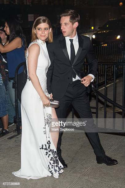 Actress Kate Mara and Jamie Bell attend the China Through The Looking Glass Costume Institute Benefit Gala After Party on May 4 2015 at The Standard...