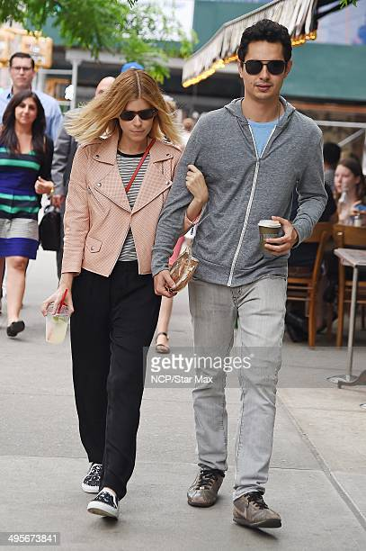 Actress Kate Mara and Max Minghella are seen on June 4 2014 in New York City