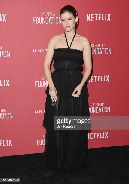 Actress Kate Mara arrives at SAGAFTRA Foundation Patron of the Artists Awards 2017 on November 9 2017 in Beverly Hills California