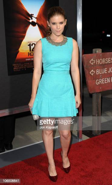 Actress Kate Mara arrives at the Los Angeles Premiere 127 Hours at AMPAS Samuel Goldwyn Theater on November 3 2010 in Beverly Hills California