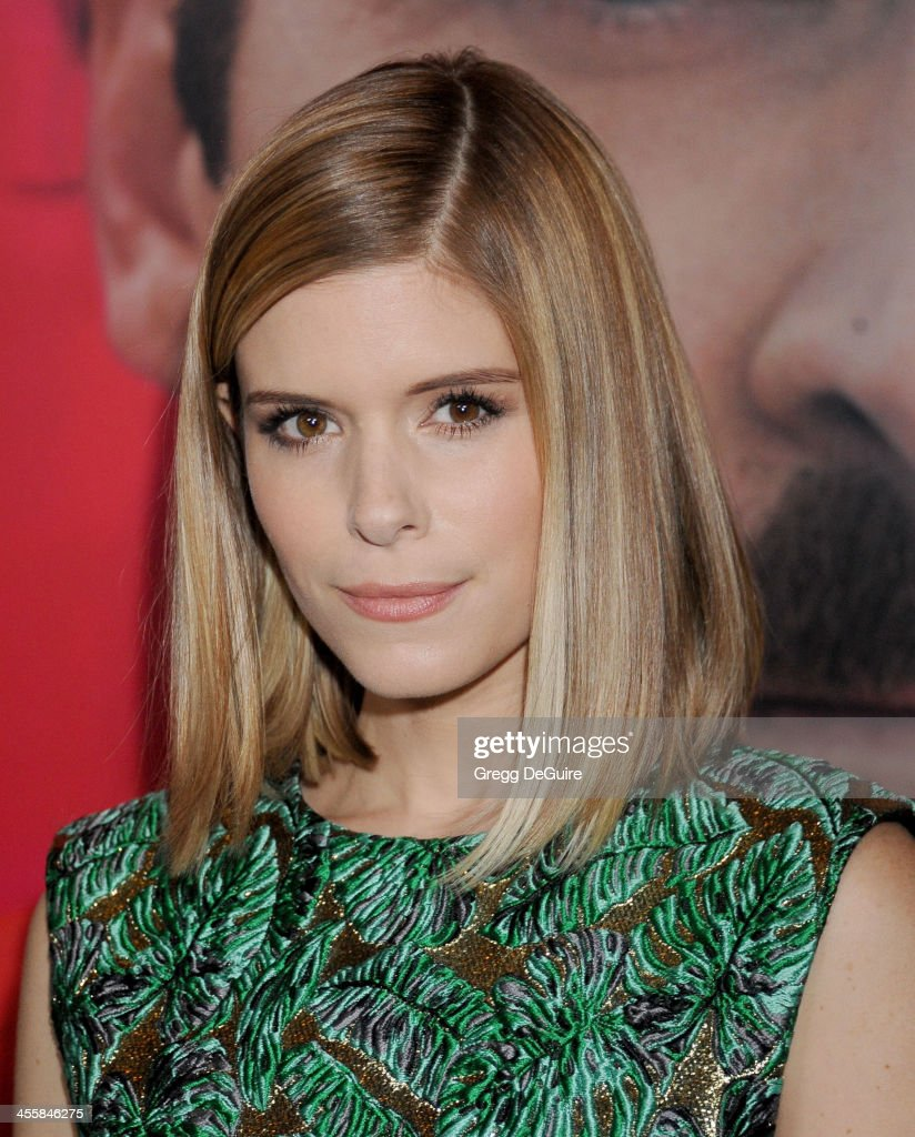 Actress Kate Mara arrives at the Los Angeles premiere of 'Her' at Directors Guild Of America on December 12, 2013 in Los Angeles, California.