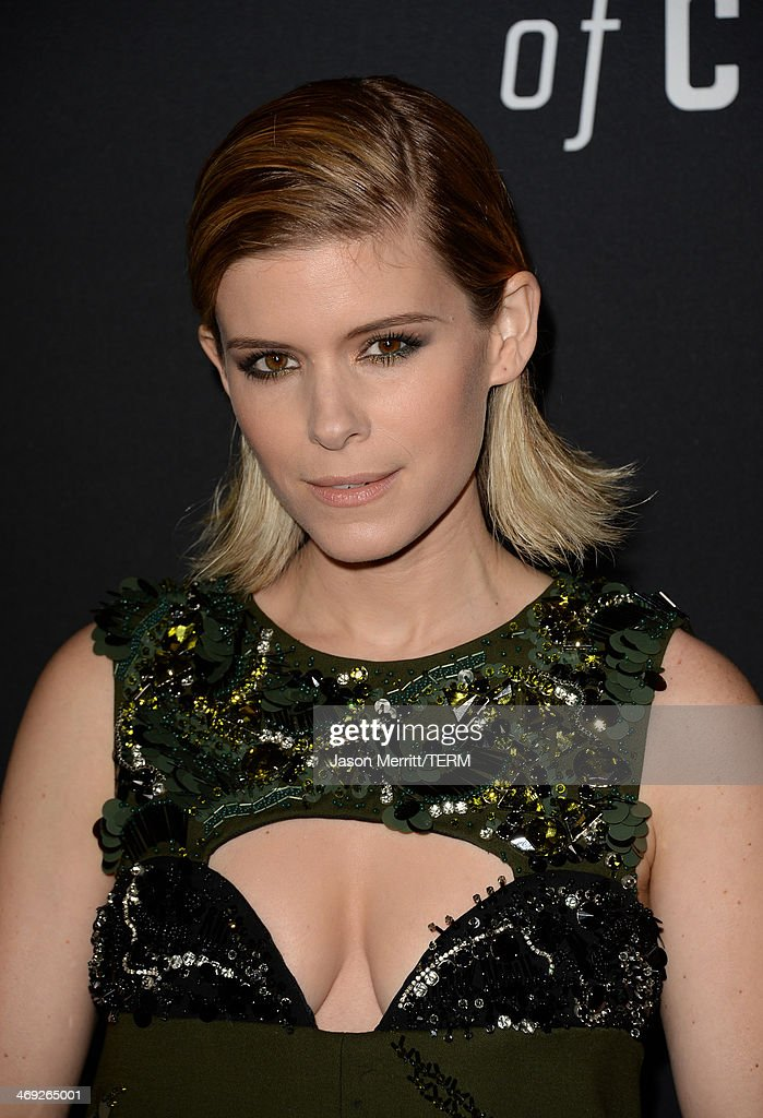 Actress Kate Mara arrives at the special screening of Netflix's 'House of Cards' Season 2 at the Directors Guild of America on February 13, 2014 in Los Angeles, California.