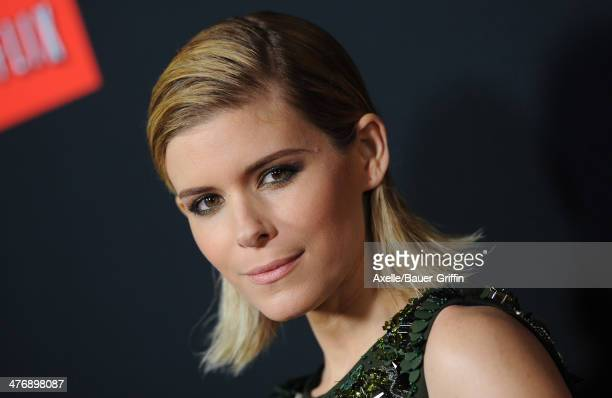 Actress Kate Mara arrives at the special screening of Netflix's 'House of Cards' Season 2 at Directors Guild of America on February 13, 2014 in Los...