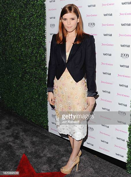 Actress Kate Mara arrives at the Vanity Fair And Juicy Couture Celebration Of The 2013 Vanities Calendar at Chateau Marmont on February 18 2013 in...