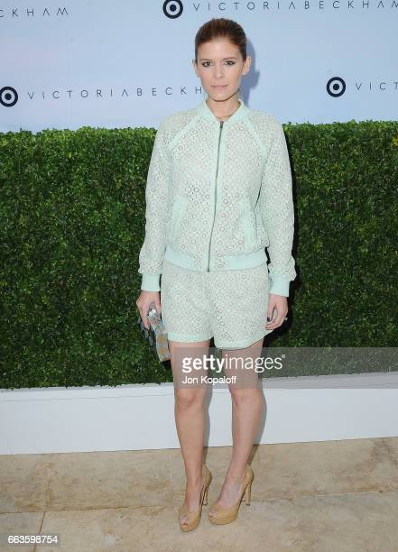 Actress Kate Mara arrives at Victoria Beckham For Target Launch Event at Private Residence on April 1 2017 in Los Angeles California